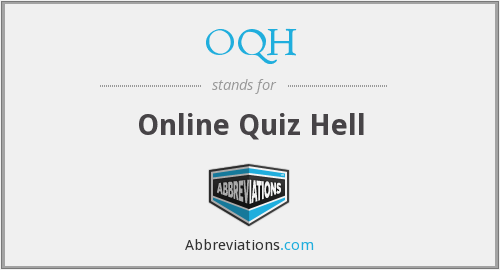 What does OQH stand for?