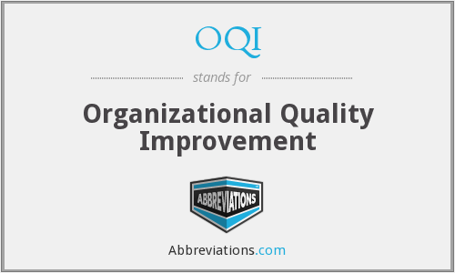 What does OQI stand for?