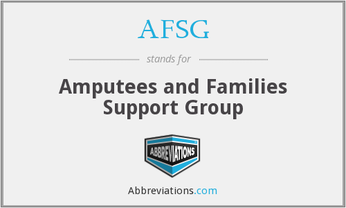 What does AFSG stand for?