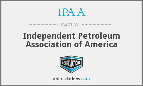 What does IPAA stand for?