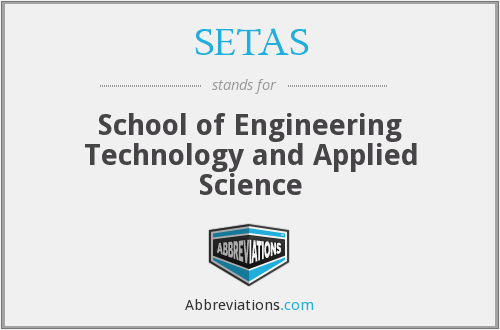 What does SETAS stand for?