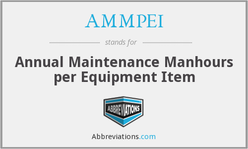 What does AMMPEI stand for?