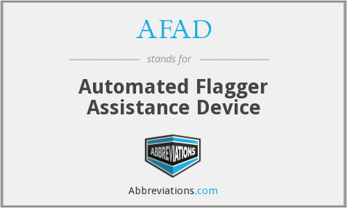 What does AFAD stand for?