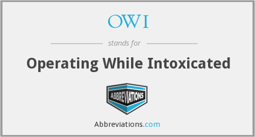 What does OWI stand for?