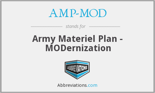 What does AMP-MOD stand for?