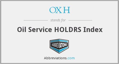What does OXH stand for?