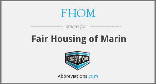 What does FHOM stand for?