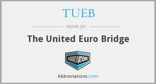 What does TUEB stand for?