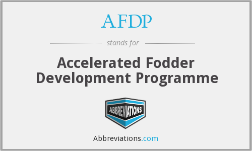 What does AFDP stand for?