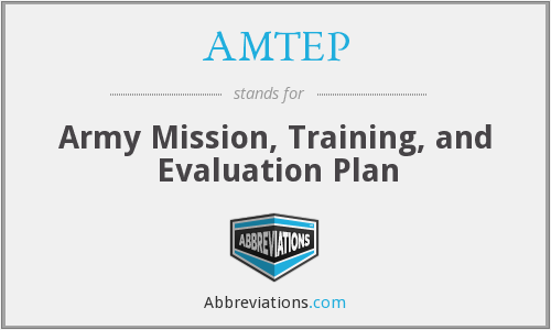 What does AMTEP stand for?