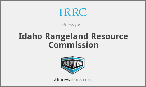 What does IRRC stand for?