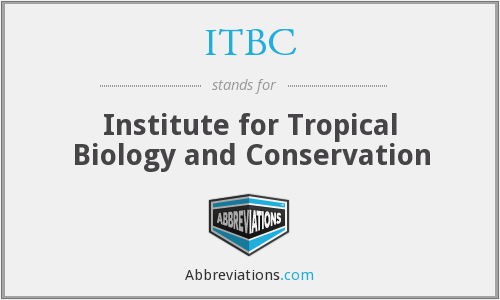 What does ITBC stand for?