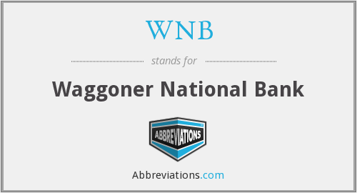 What does WNB stand for?
