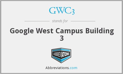 What does GWC3 stand for?