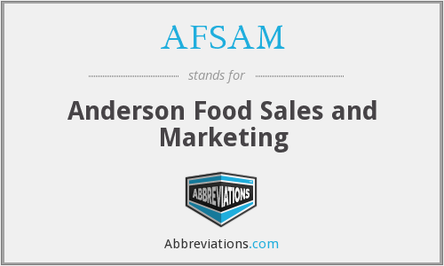 What does AFSAM stand for?