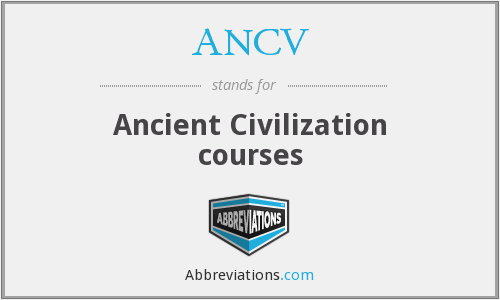 What does ANCV stand for?