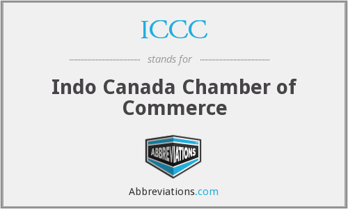 What does ICCC stand for?