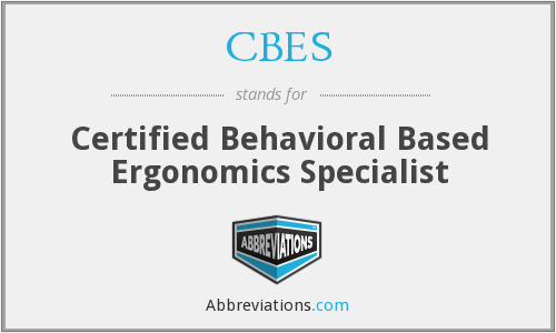 What does CBES stand for?