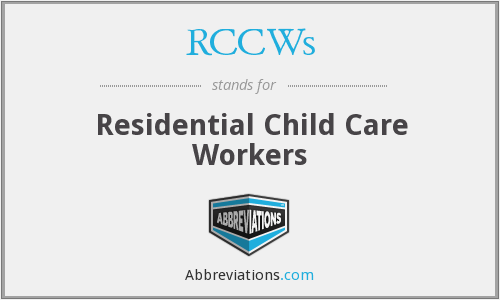 What does RCCWS stand for?