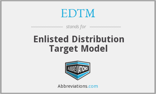 What does EDTM stand for?