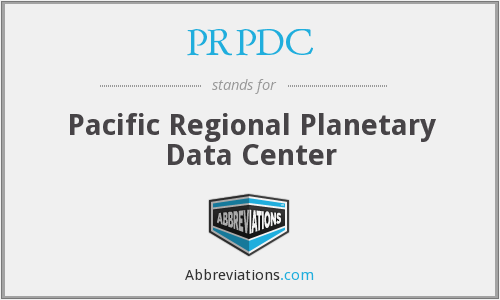 What does PRPDC stand for?