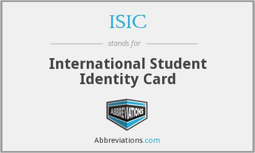 What does ISIC stand for?