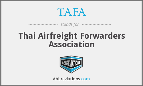 What does TAFA stand for?