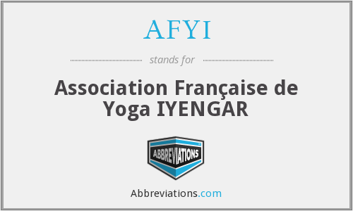What does AFYI stand for?