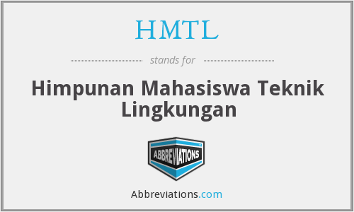What does HMTL stand for?