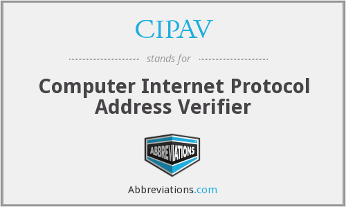 What does CIPAV stand for?