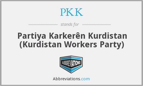 What does PKK stand for?