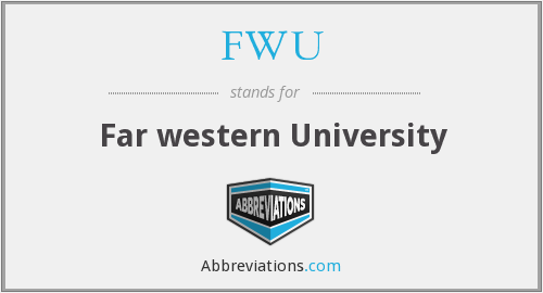 What does FWU stand for?