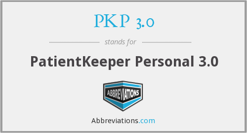 What does PKP 3.0 stand for?