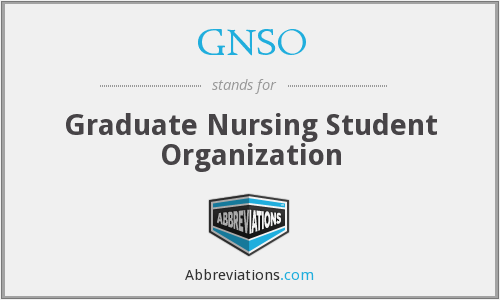 What does GNSO stand for?