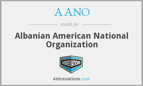 What does AANO stand for?