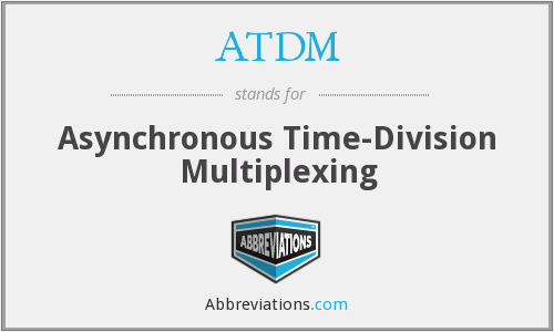 What does ATDM stand for?