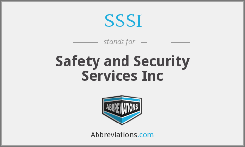 What does SSSI stand for?