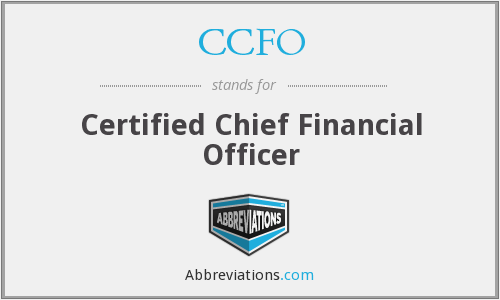 What does CCFO stand for?