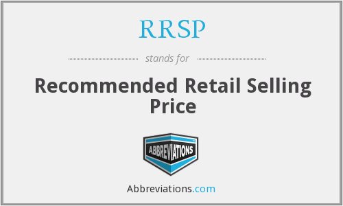 What does RRSP stand for?