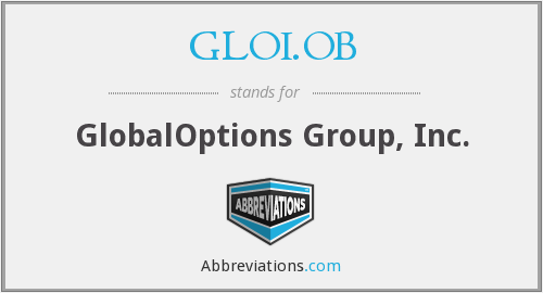 What does GLOI.OB stand for?