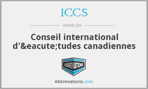 What does ICCS stand for?