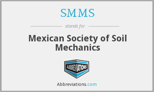 What does SMMS stand for?