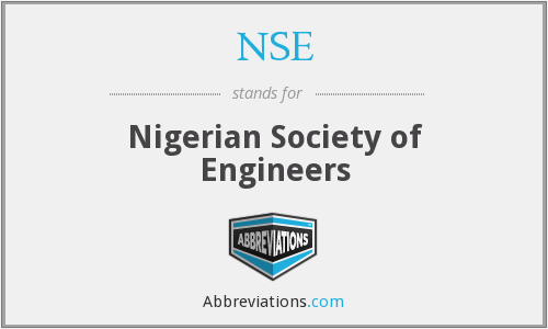 What does NSE stand for?
