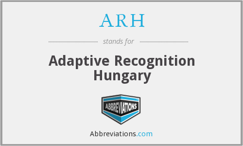What does ARH stand for?