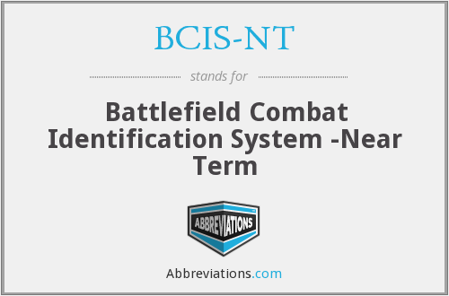 What does BCIS-NT stand for?
