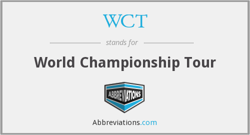 What does WCT stand for?