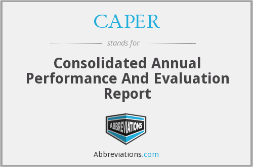 What does CAPER stand for?