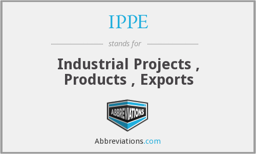 What does IPPE stand for?