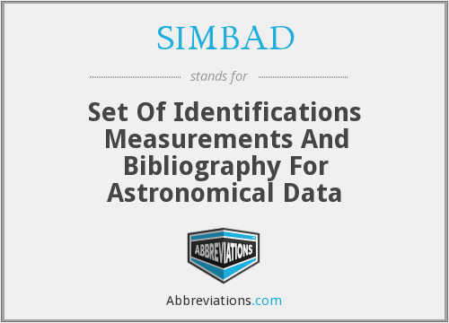 What does SIMBAD stand for?