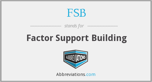 What does FSB stand for?